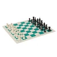 جديد وصول 34.5x34.5 سنتيمتر المحمولة خفيفة الشطرنج مجموعة لفة حتى في أنبوب شكل حالة مربع الكتف حزام عبة الشطرنج الترفيه