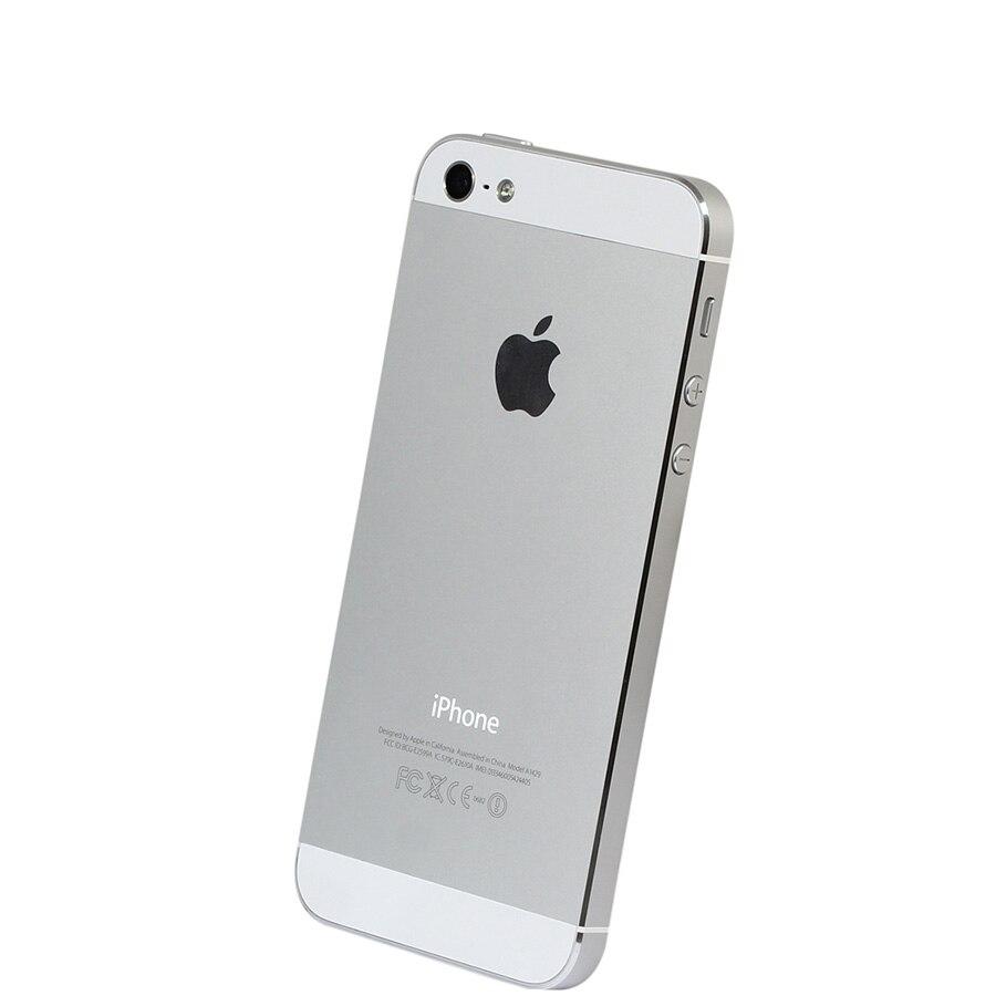 Débloqué Original iPhone 5 16 GB/32 GB/64 GB ROM double-core 3G 4.0 pouces écran 8MP caméra iCloud WIFI GPS IOS OS téléphones portables - 4