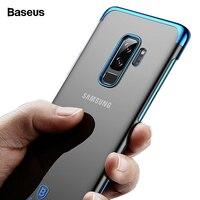 Baseus LuxurPhone чехол для samsung Galaxy S9 Блестящая крышка задняя ПК Жесткий Чехол для S9 плюс защитный телефон Capinhas fundas