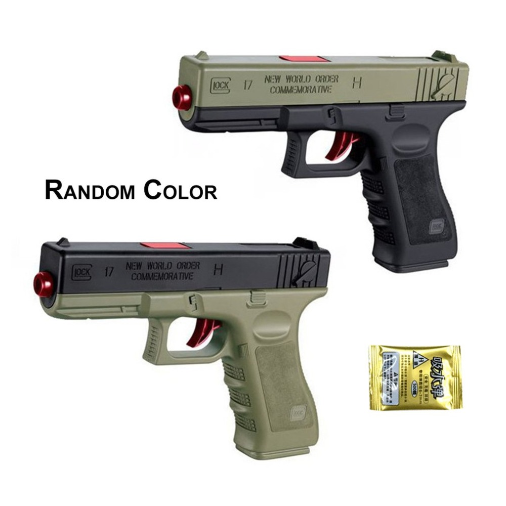 Kids Manual Toy Guns Gel Ball Toy High Simulation Funny Outdoor Shooter Playing Gun Toys Christmas Gift For Kids Children Boys