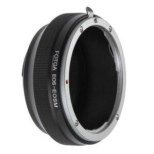 Image 4 - Fotga Adaptör Halkası Canon EOS EF/EF S Montaj Lens için Canon EF EOS M M2 M3 M5 M6 M50 m10 M100 Aynasız Kameralar