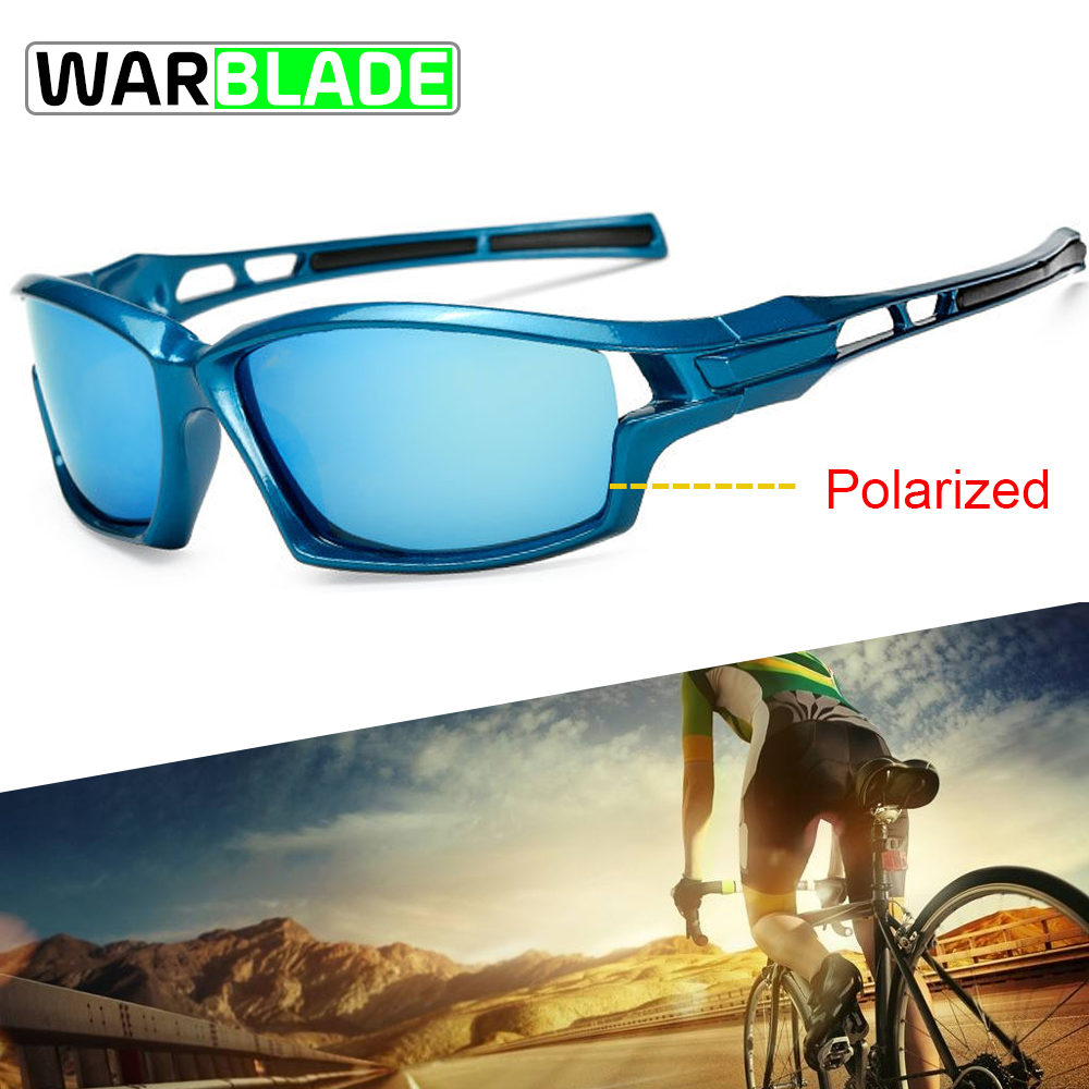 Sport Sunglasses Polarized Cycling Glasses UV400 Bicycle Glasses Men Women Cycling Sunglasses Fishing Running Eyeware WarBLade