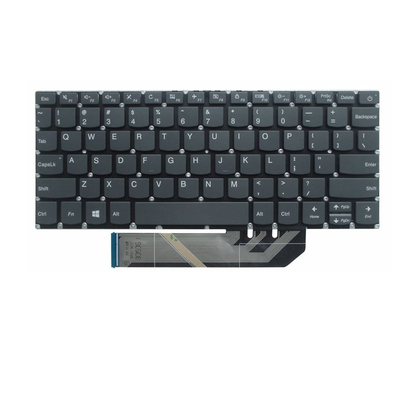 Image 2 - for Lenovo Ideapad YOGA 530 14AR 530 14IKB 120S 11IAP Air14IKBR Air15IKBR AIR15ARR 730 15 530 15 FLEX6 14 US English keyboard-in Replacement Keyboards from Computer & Office on