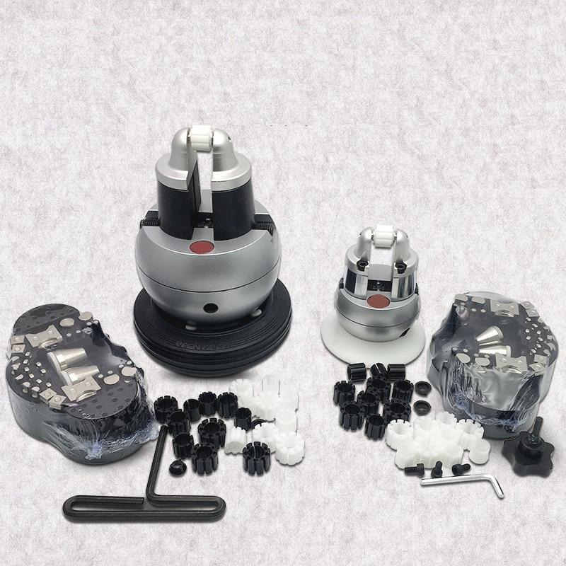 jewelry equipments Mini Engraving Ball Vise Tool Block Ring Setting Tools Diamond Stone Setting With Full Attachment цена