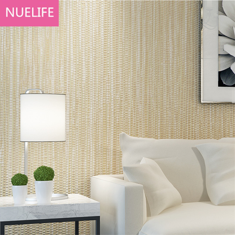 0.53x10 Meter Chinese style grass weed  pattern  wallpaper study room living room bedroom kids room work room  striped wallpaper