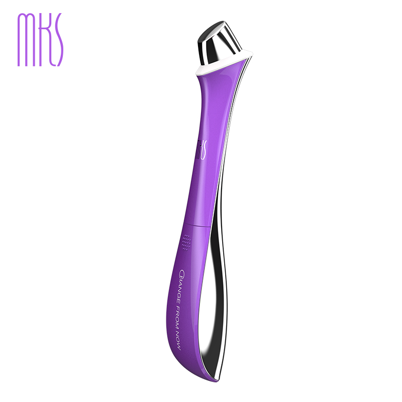 2017 New MKS Eye SPA Massager Beauty Instrument Anti aging Vibration Eye Massager Treatments for Dark Circle Puffiness &Wrinkle