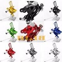 8 Colors CNC Rear sets For Honda CBR400RR CBR 400RR 400 RR NC29 1993 1999 1994 1995 1996 1997 1998 Rear Set Footpegs Foot Pedal