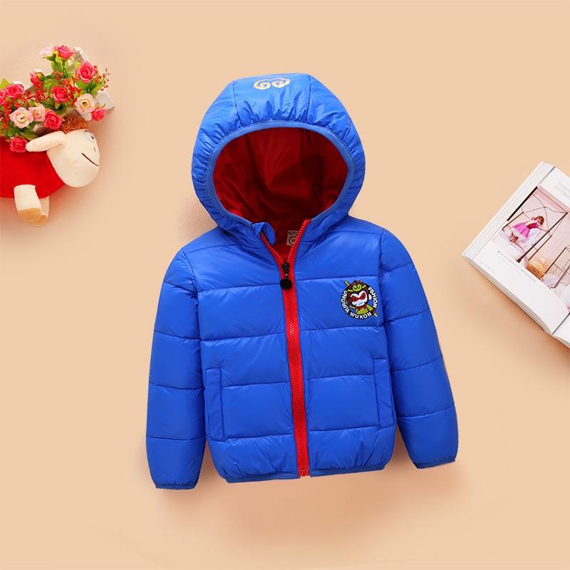 Sonbahar ve Kış Yeni Çocuk Giyim Aşağı Ceket Ceket Çocuklar kat Kız ve Erkek Giysileri Pamuk-yastıklı Çocuklar giysi