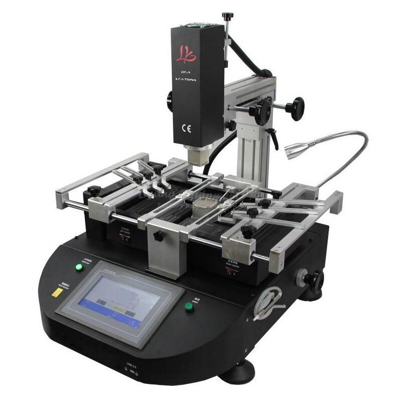 Ehrgeizig 4500 Watt Ly-5830c Touchscreen Bga Rework Station Hot Air 3 Zonen Für Laptop Motherboard Chip Reparatur, Freies Steuer Nach Russland