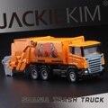 Siku 1 : 87 Scania caminhões de lixo carro veículo de transporte liga toy Diecast modelo presente do carro para crianças menino