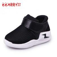 KKABBYII New Summer Sandals Korean Fashion Soft Shoes For Boys Girls Sandals Hollow Mesh Breathable Beach