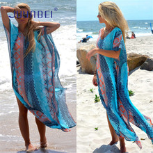 New 2018: Kaftan Beach Sarongs, Sexy Cover-Ups, Chiffon Bikini Swimwear, Swimsuit Bathing Suit Cover Ups