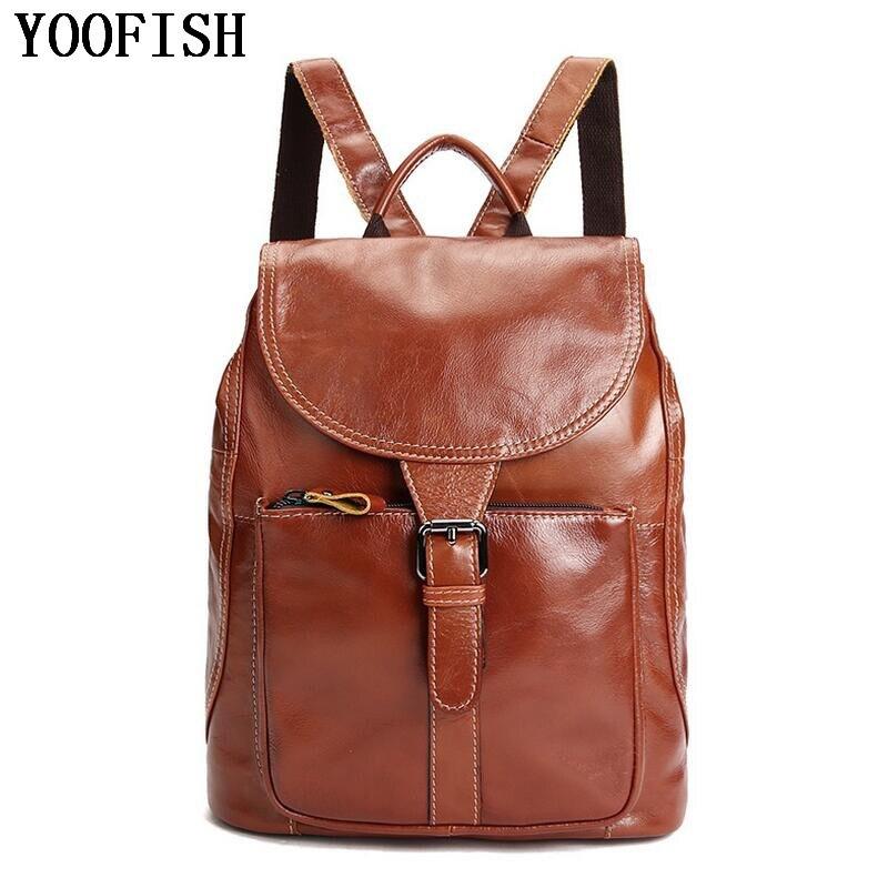Пояса из натуральной кожи Для мужчин рюкзак большой Ёмкость человек Дорожные сумки Высокое качество Мода Бизнес сумка для отдыха человека …