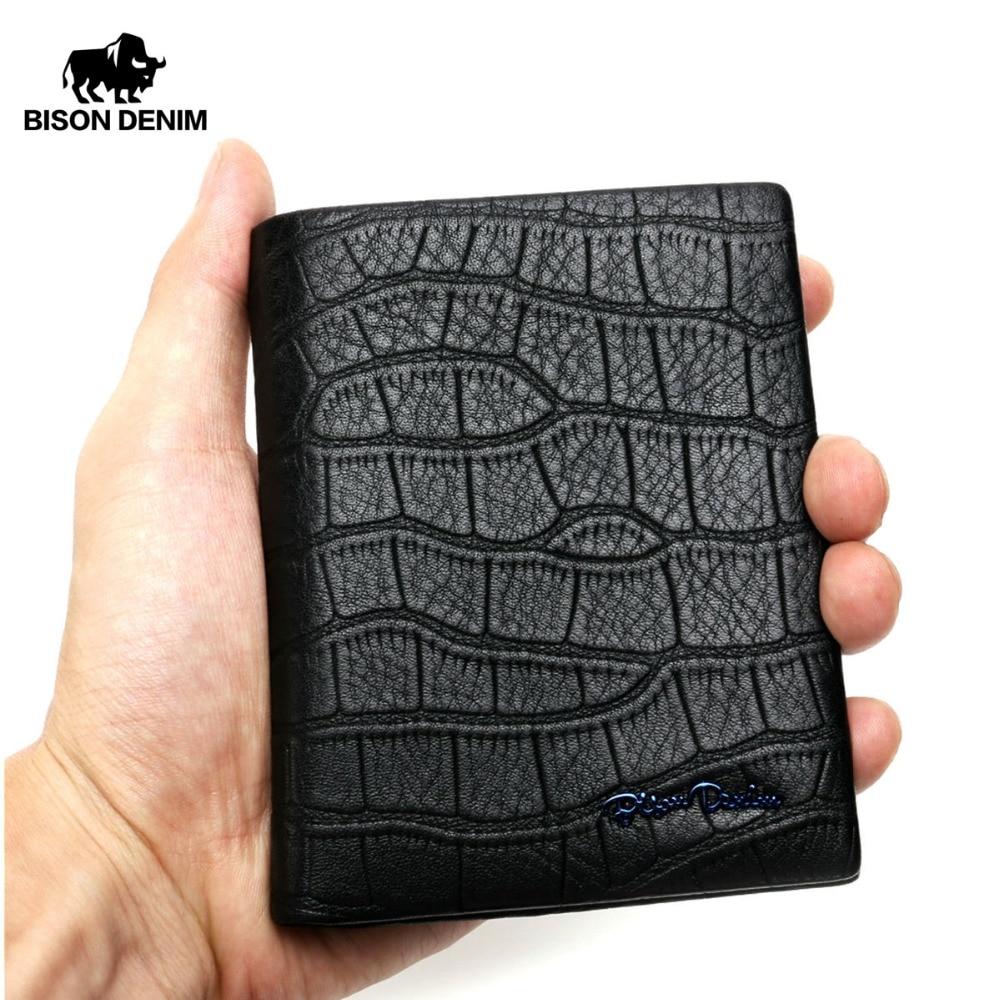 БІЗОН ДЕНІМ Мода чоловічий гаманець - Гаманці та портмоне