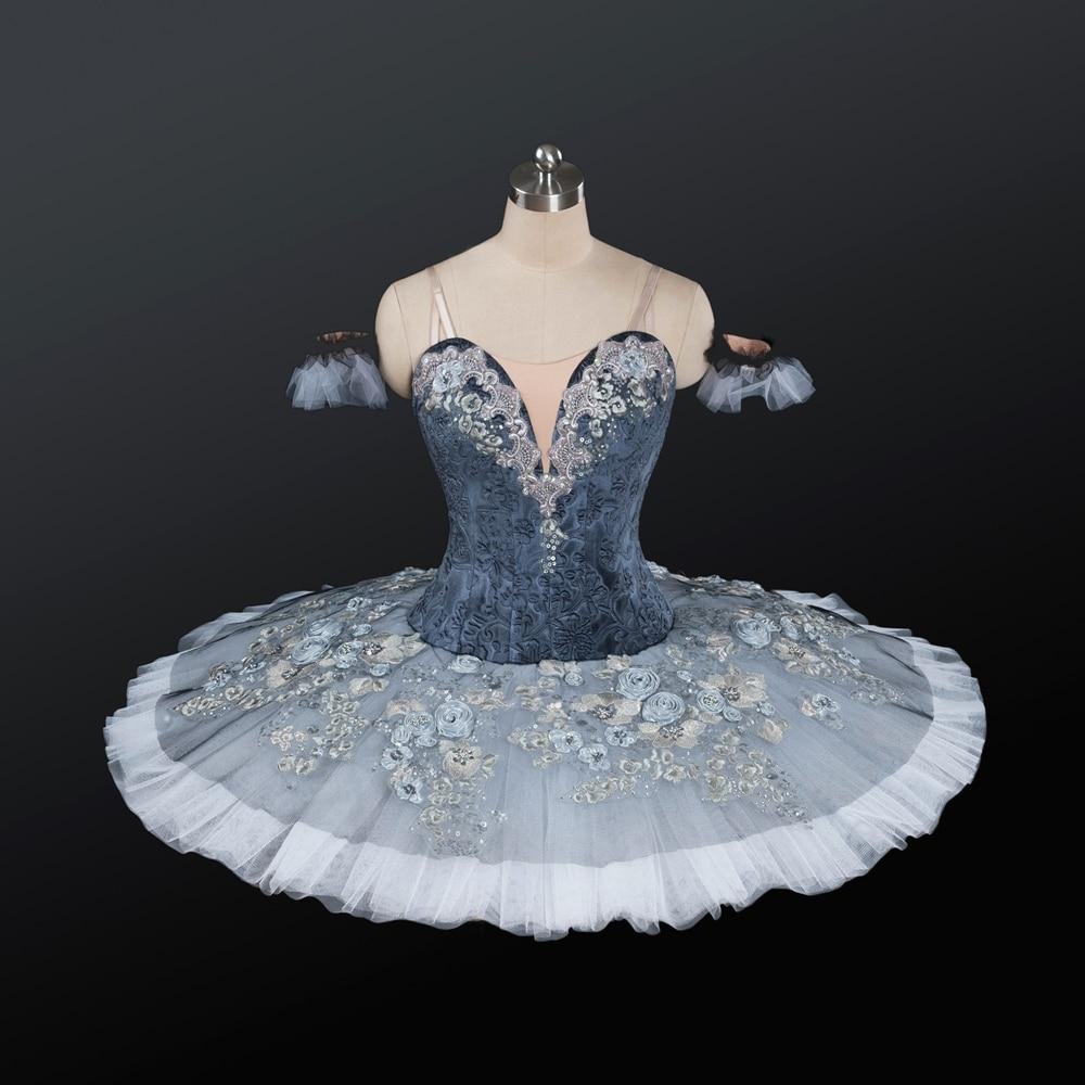 Adult Ballet Costumes Gray Skirt Cinderella Stage Wear