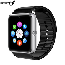 Модный GT08 Smartwatch для huawei Часы для Xiaomi умные часы для Iphone Relogio телефонный звонок большой аккумулятор SD карта сенсорный экран