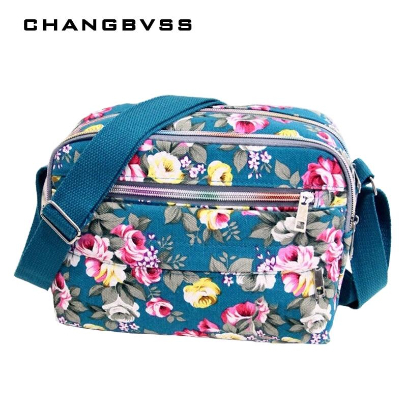 Color Flower Printed Baby Nappy Diaper Bag Mommy Shoulder Maternity Bag Multi Function Nursing Bag For Baby Care Bolsa Infantil