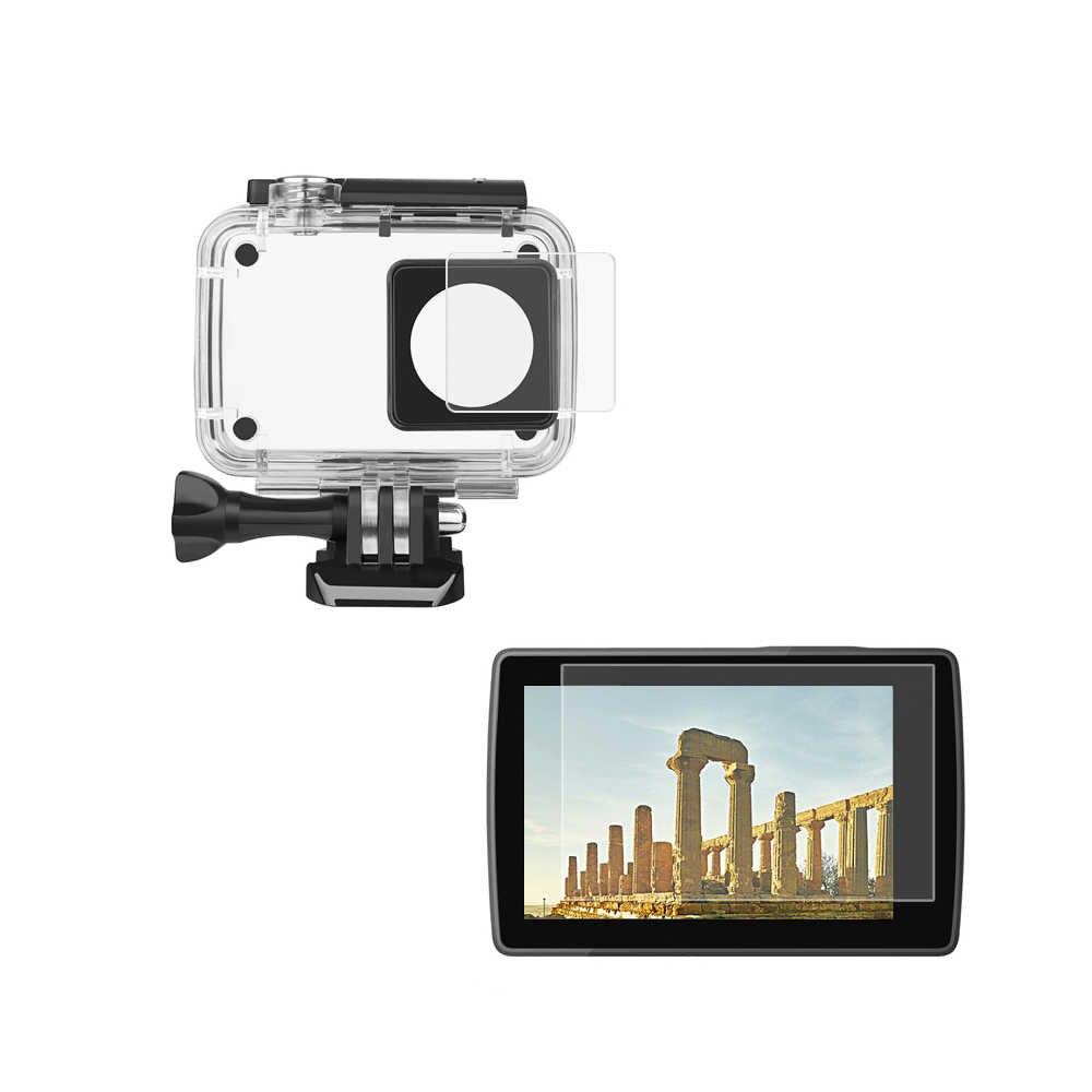 HD Phim Bảo Vệ Bảo Vệ Màn Hình Cho Xiaomi Yi Lite Yi 4 K 4 K + Thể Thao Cam Bộ Dụng Cụ cho Yi 4 k Hành Động Phụ Kiện Máy Ảnh Bộ