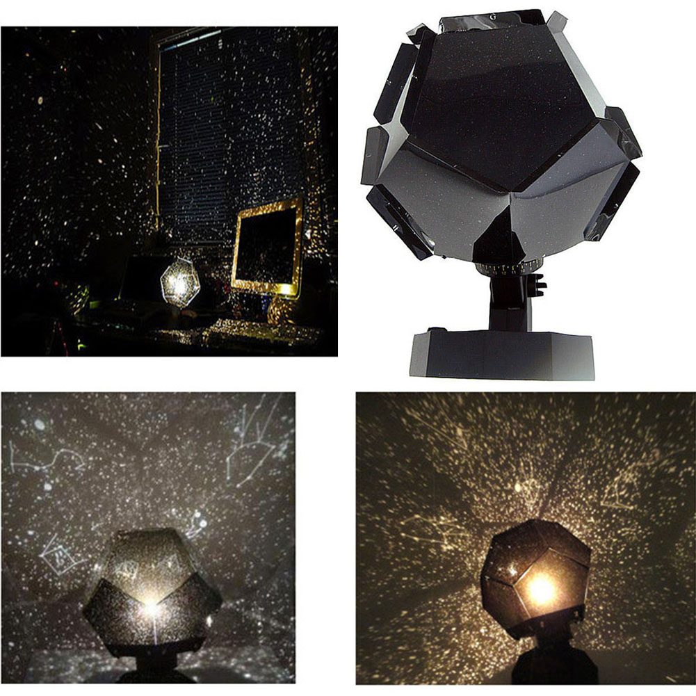 3 Colors Christmas Night Lights Romantic Astro Star Sky Laser Projector Cosmos  Lamp For Valentine Kids Children Bedroom Decor