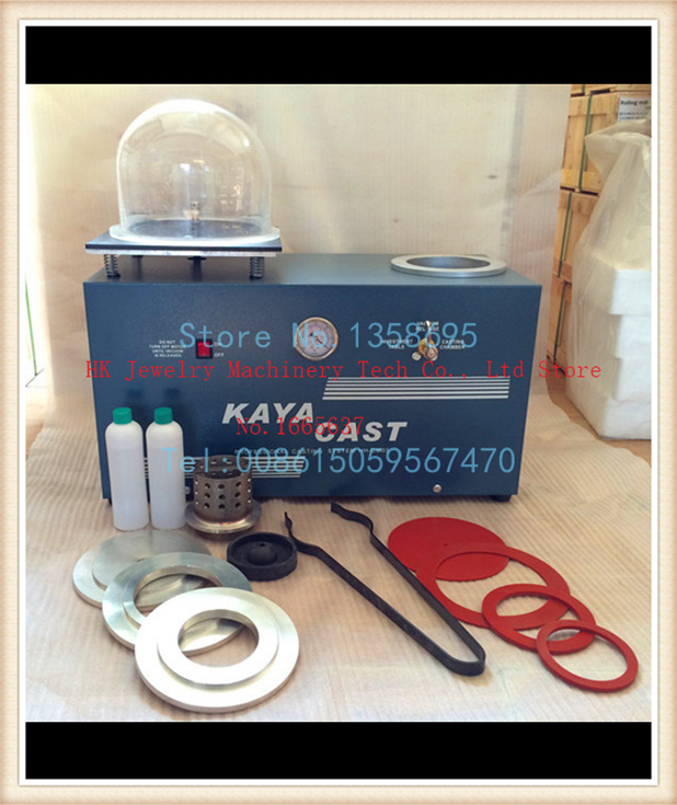 Free Shipping New Arrival KAYA Casting Machine For Jewelry Gold Casting Equipment HD-CM1