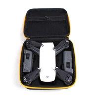 Djiスパーク収納袋ポータブルハンドヘルドボックスホールドボディバッテリープロペラデータ充電ケーブルスーツケースハンドバッグ用djiスパークドローン