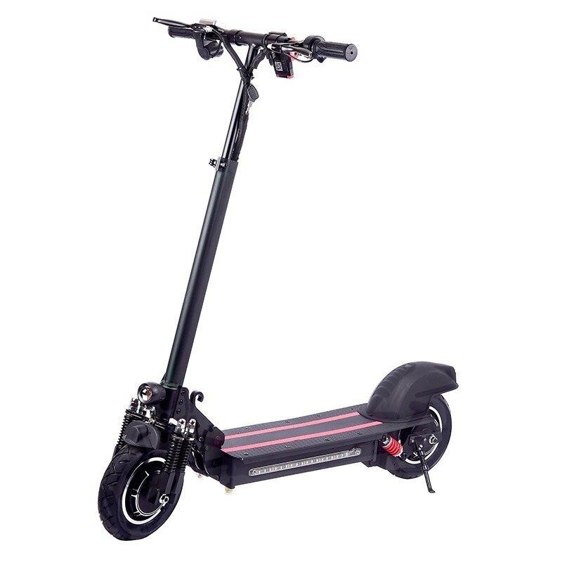 10 pouces tout-terrain vélo électrique Scooter adulte 48 V 1200 W puissant nouveau vélo électrique pliant