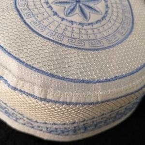 Image 3 - Plus Size Muslim Prayer Caps Allah Bonnet Musulmana Kippah Yarmulke Jewish Hats Kopftuch Hidjab Turban African Sombrero Pesca