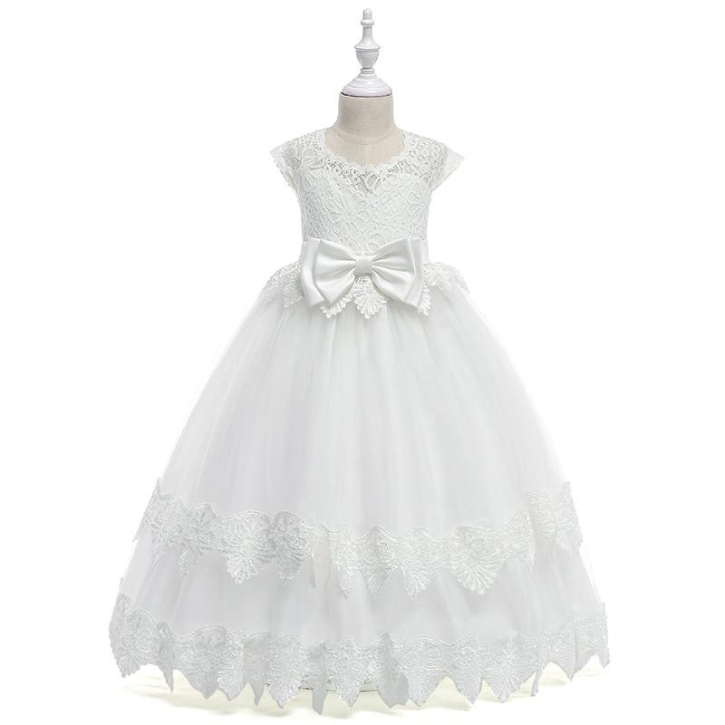 e484ab2a2 Vestidos de verano para niñas adolescentes vestido de novia bordado ...