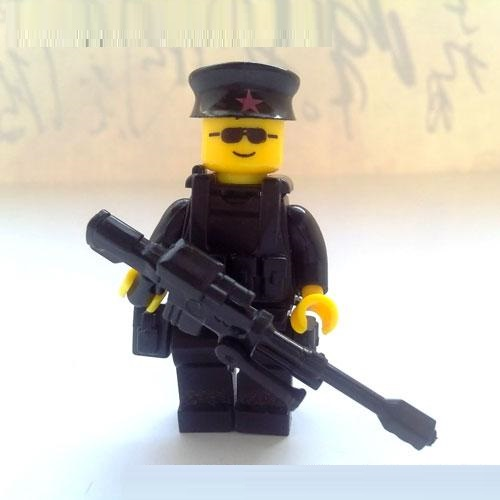 1pcs Sniper Violin Box Weapons Original Toy Swat Police Military Weapons Accessories Compatible Figures Toys & Hobbies