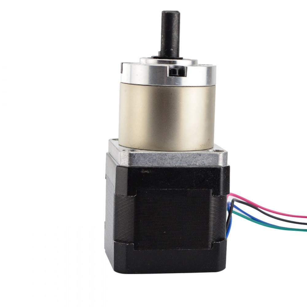 Nema 17 Stepper Motor 19:1 Planetary Gearbox Nema17 Step Motor 42 Motor L=39mm 0.4A for CNC Robotic/CNC MachineNema 17 Stepper Motor 19:1 Planetary Gearbox Nema17 Step Motor 42 Motor L=39mm 0.4A for CNC Robotic/CNC Machine