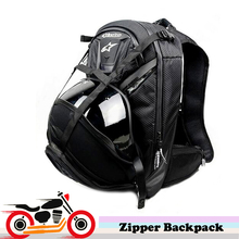Multifunctional Motorcycle Backpack Helmet Bag Motocross Knight Riding Multi-Pocket Zipper Shoulder Bag Luggage Tool Laptop Bags