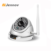 Jennov Wifi Outdoor IP Camera 1080P 960P 720P ONVIF Home Security Wireless Video Surveillance Dome Camera CCTV Camera APP C