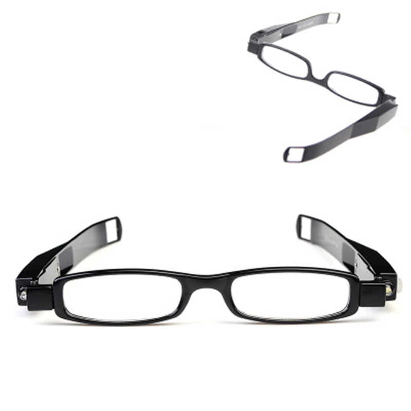 new fashion Multi Strength LED Reading Glasses Eyeglass Spectacle Diopter Magnifier Light UP