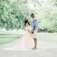 Elegant Lace Maternity Dress