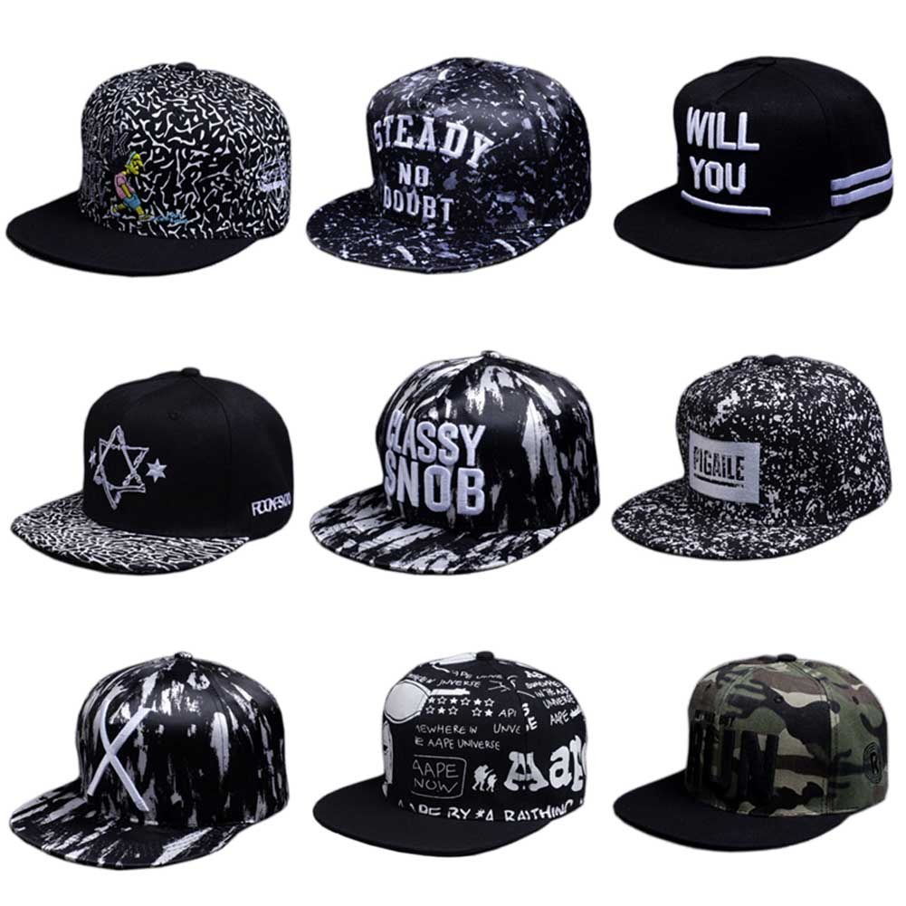 ... amazon 9 styles spring men and women snapback cap quick dry summer sun  hat visor hip e6ef485ac08