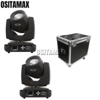 2PCS+ flightcase 5R Beam 200w Sharpy Moving Head Light Zoom Spot Light Professional Stage Lighting Beam Disco Light
