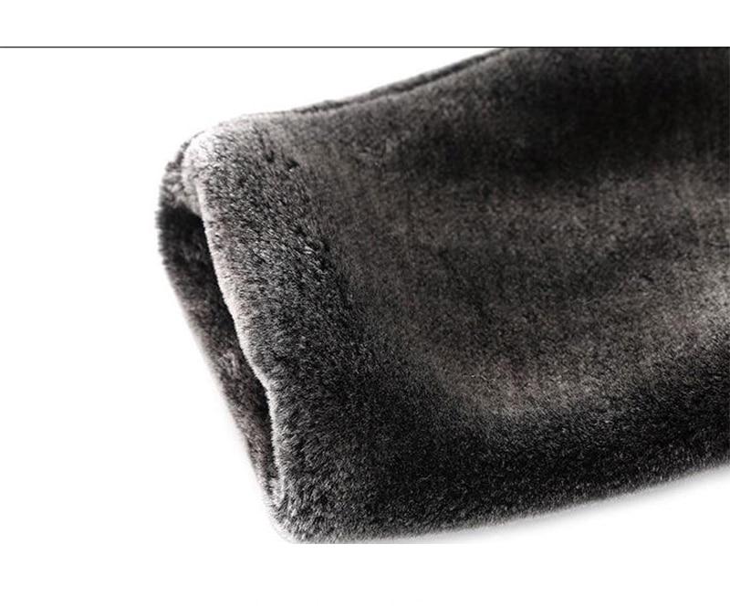 HONGZUO ерлерге арналған жасанды матадан - Ерлерге арналған киім - фото 5