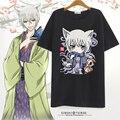 Kiss Kamisama Hajimemashita Love T shirt Anime tomoe Cosplay Costume  T-shirt Cotton Short Sleeve Tees For Women Men