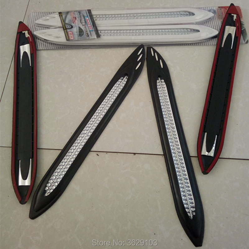 car anti-collision strip bumper protector Car crash bar anti-rub car-styling for Cadillac srx cts ats escalade sts dts bls
