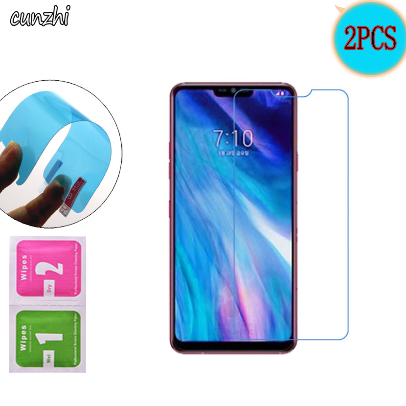 For LG G7 ThinQ Ultra Clear TPU Nano Explosion proof Screen Protector For