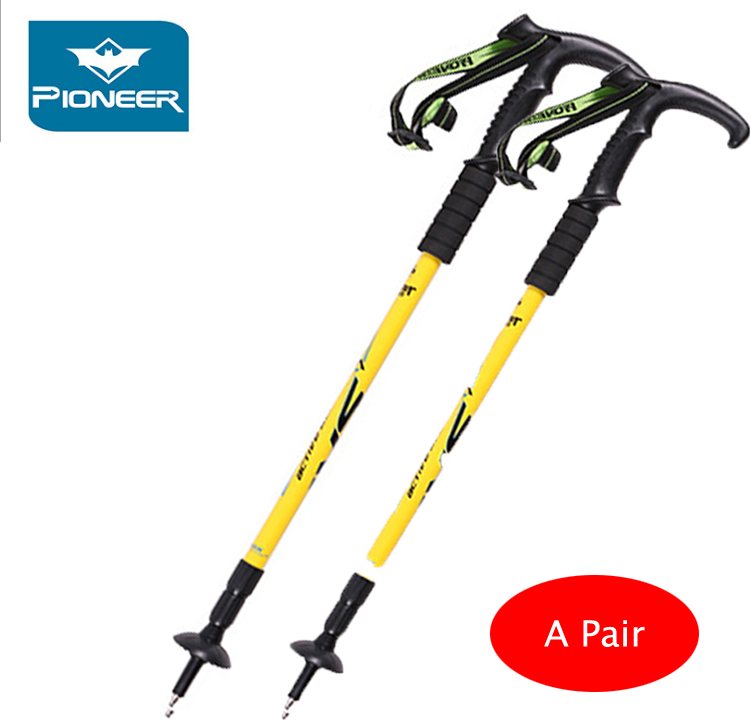 POINT BREAK 2 pcs/Pioneer 2 Department Of Portland - Langya Alpenstocks Crutch Bent Handle 5 colors can be selected