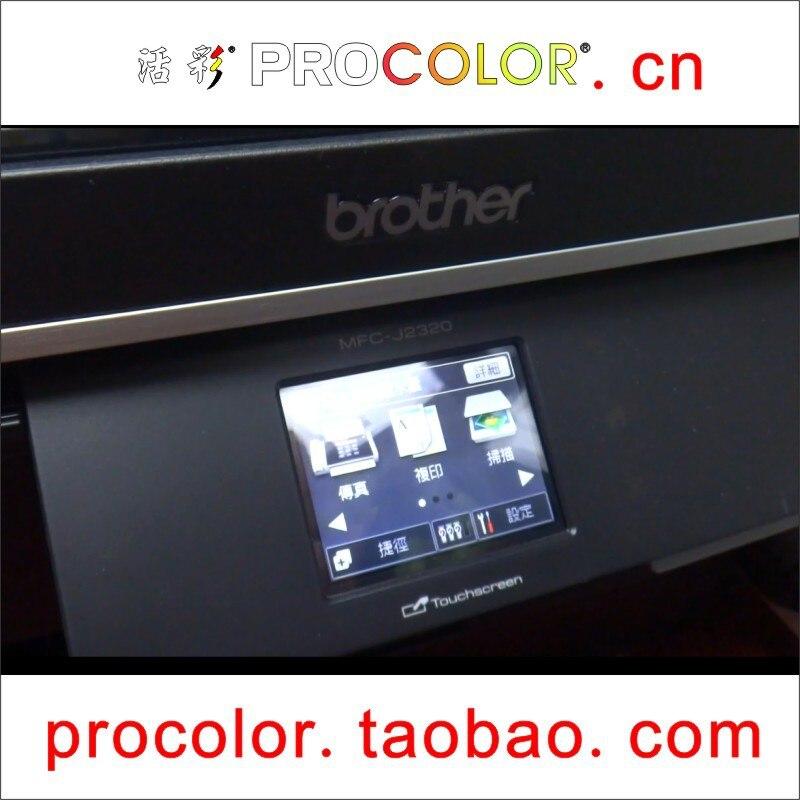 Newest long refillable inkjet cartridge LC663BK C M Y for BROTHER MFC-J2320 MFC-J2720 MFC J2320 MFC J2720 MFCJ2320 MFCJ2720 main board for brother mfc 7840n mfc 7840 mfc 7840 7840n formatter board mainboard