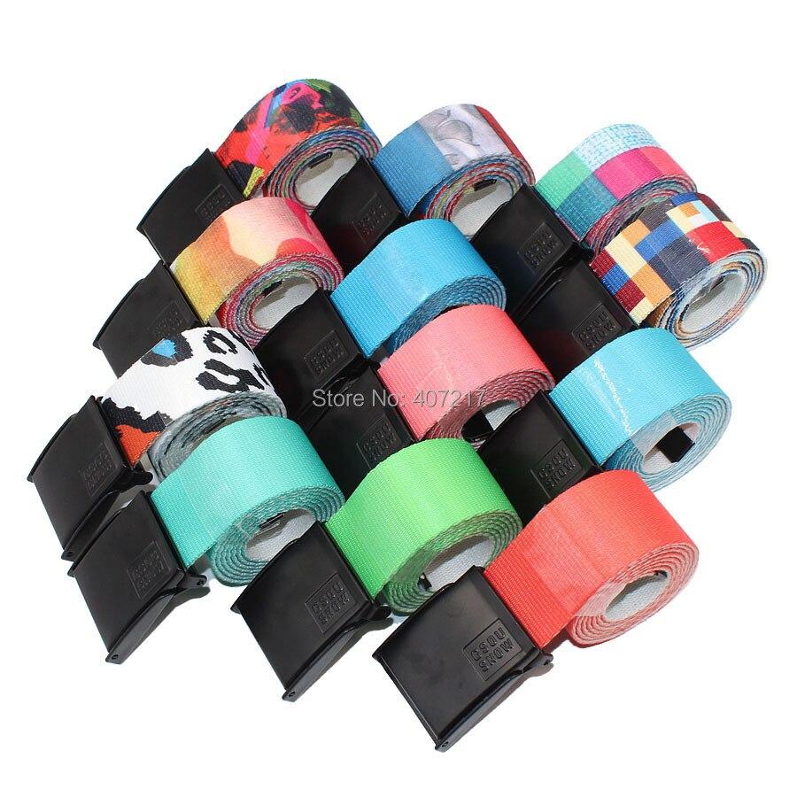 Prix pour Unisexe ESD ski ceintures amoureux bonbon sucré ceinture colorée sport ceintures pur anti-statique snowboard ceintures 12 couleurs livraison le bateau