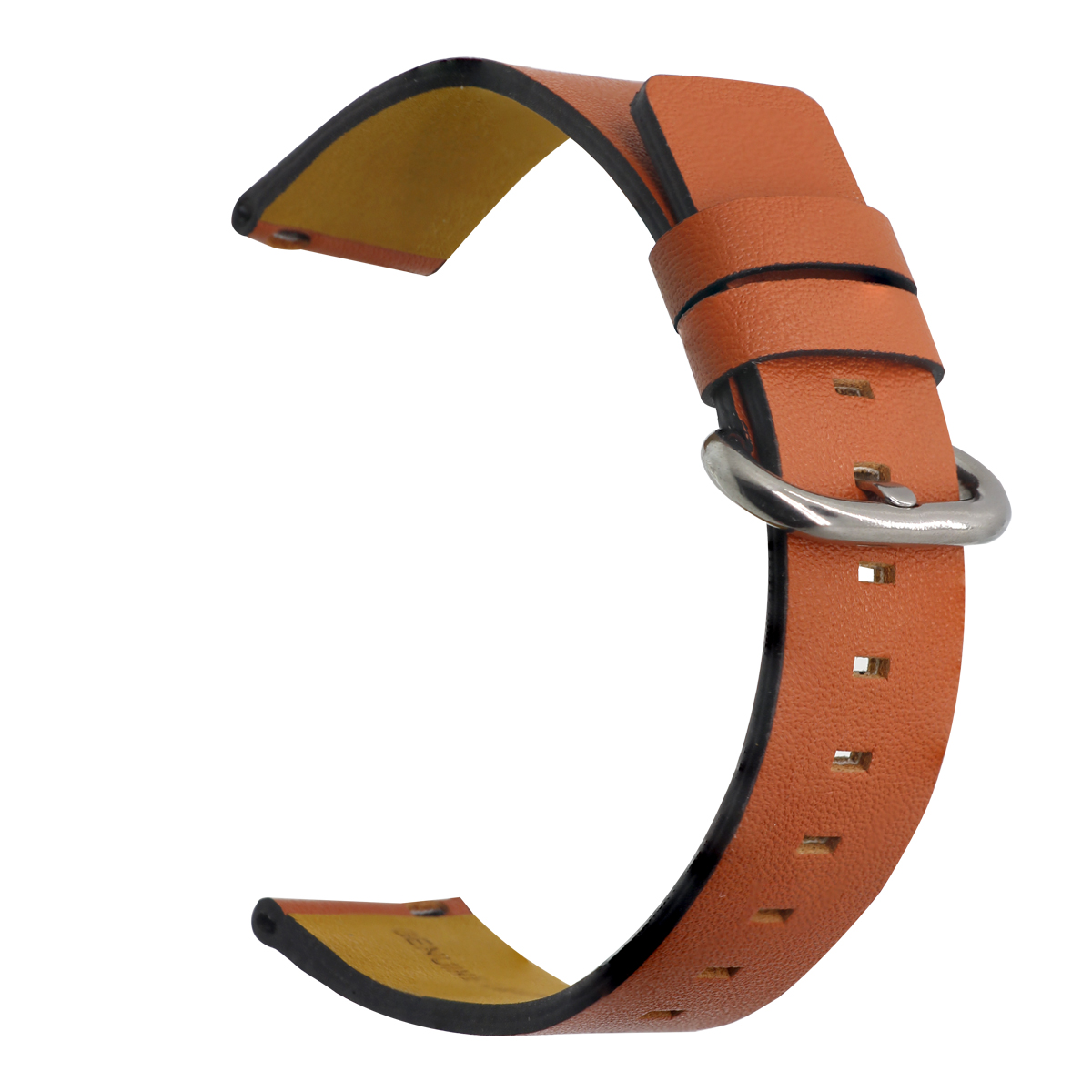 ZLIMSN Design Classic Buckle Cow Leather Watch Band Bracelet Accessories Wrist Quick Release Switch Spring For Men Women 20 22mm in Watchbands from Watches