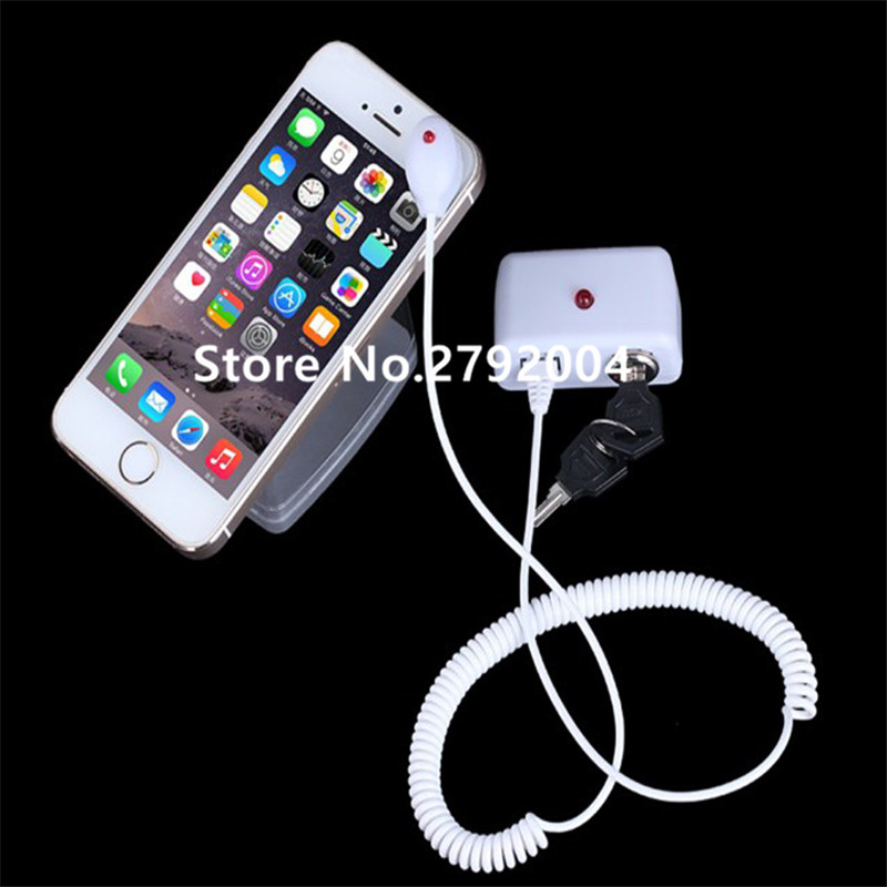 Cell phone security stand tablet display holder laptop alarm lock ipad sensors cable PC anti-theft device for watch earphone mobile phone security stand tablet display alarm laptop burglar alarm ipad lock sensors holder retail pc anti theft device