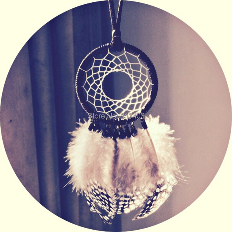 Ny Ankomst Lille Dream Catcher Bil Home Hangings Indian Style Dream Catcher Decoration Nytår Bedste Gave Gratis Levering
