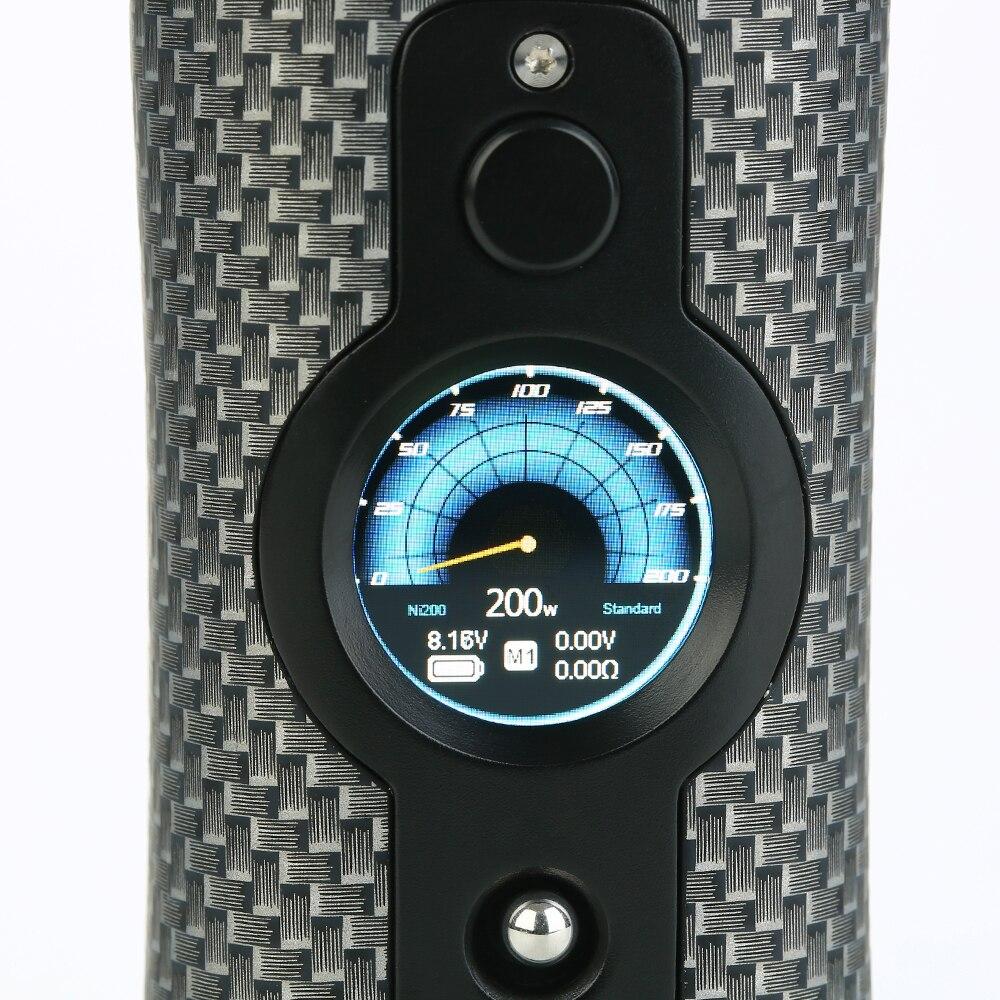 D'origine 200 W Vsticking VK530 boîte de tc MOD avec YiHi SX530 Puce et SXi-Q Contrôle Alimenté Par 18650 Batterie e-cig vapoteuse VS Glisser 2 - 4
