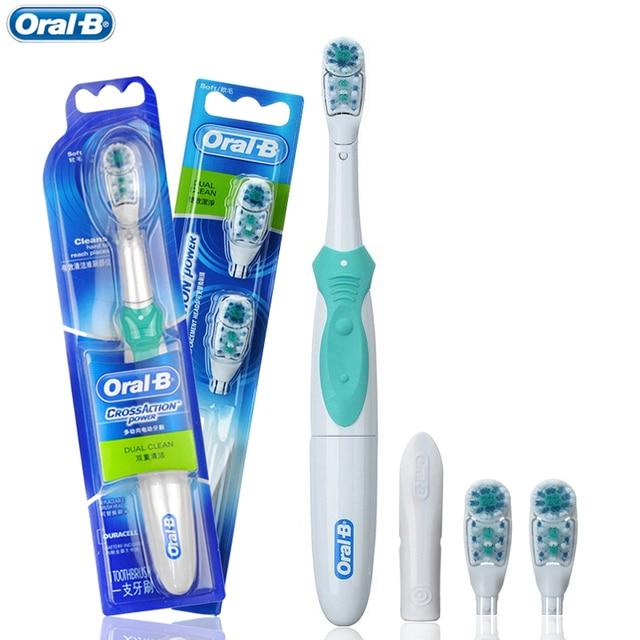 Oral B Sikat Gigi Listrik untuk Orang Dewasa Sikat Gigi Cross Sikat Gigi  Baterai Gigi Sikat a77ff00882