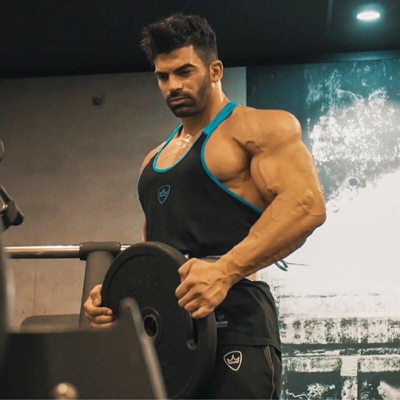 BeLegend 2019 New Fitness Men Tank Top Mens Bodybuilding Stringers Tank Tops Singlet Brand Clothing
