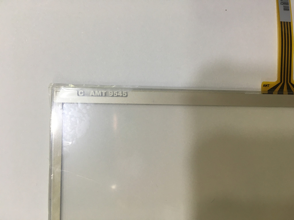 AMT AMT9545 Taiwan original 7 inch 4-wire resistive touch screen amt 146 115 4 wire resistive touch screen ito 6 4 touch 4 line board touch glass amt9525 wide temperature touch screen